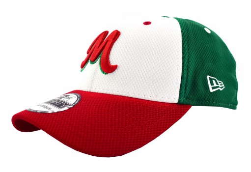 NEW ERA 11 592473 11 WHITE FRONT RED SERIE DEL CARIBE MEX  55-62