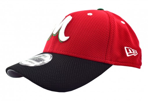 NEW ERA 11 592476 11 DIAMONT RED SERIE DEL CARIBE MEX  55-62