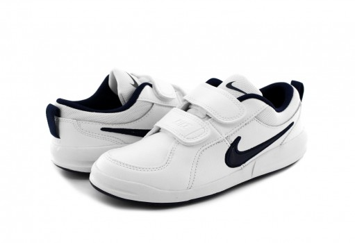 NIKE 454500 101 WHITE/MIDNIGHT/NAVY PICO 4  16.0 -