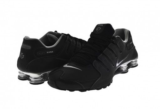 NIKE 501524 024 BLACK/REFLECT SILVER-ANTHRCT SHOX NZ EU  25-33
