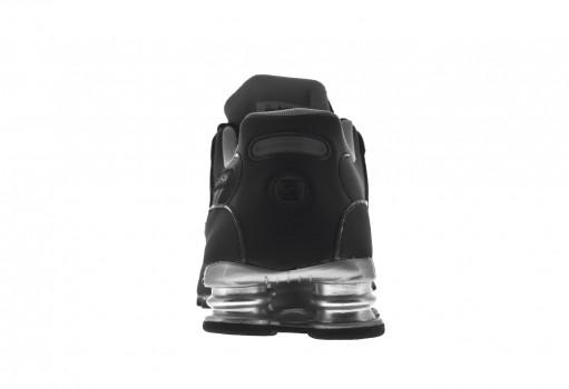 NIKE 501524 024 BLACK/REFLECT SILVER-ANTHRCT SHOX NZ EU  25-33