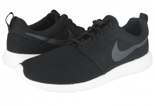 NIKE 511881 010 BLACK/ANTHRACITE-SAIL ROSHE ONE  25-30