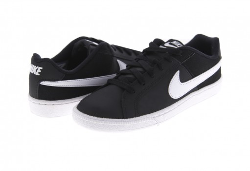 NIKE 749867 010 BLACK/WHITE WMNS COURT ROYALE  22-27