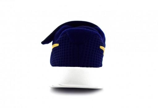 NIKE 818383 406 BLUE VOID/MTLC GOLD-WHITE TANJUN (TDV)  12-16