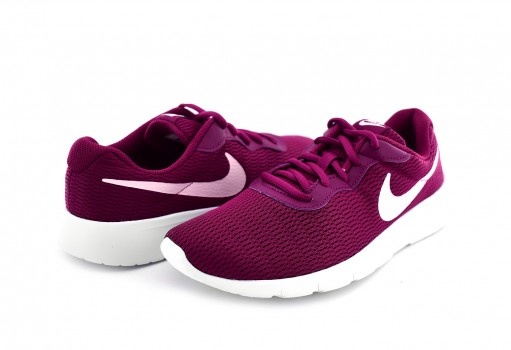 NIKE 818384 606 TRUE BERRY/PINK FOAM-WHITE TANJUN GG  22.5-25