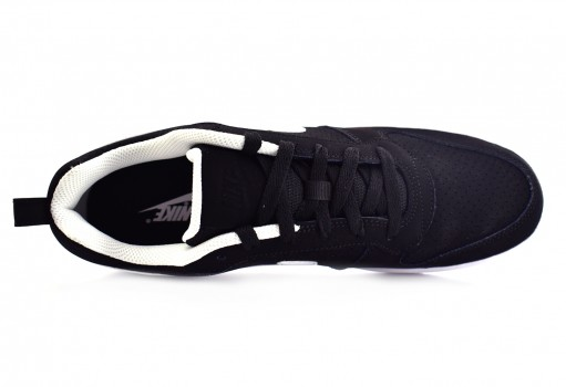 NIKE 838937 010 BLACK (WHITE) COURT BOROUGH LOW  25-31