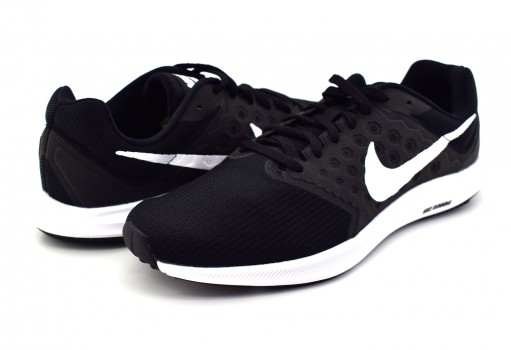 NIKE 852459 002 BLACK/WHITE-ANTHRACITE DOWNSHIFTER 7  25-31
