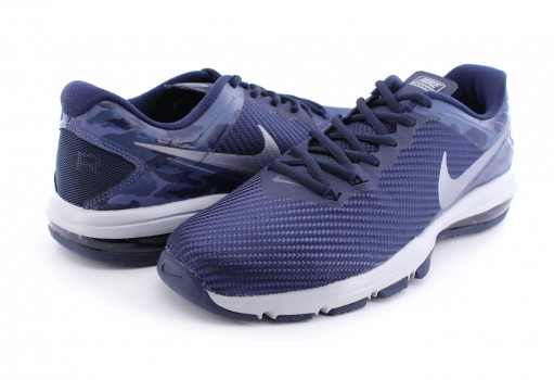 NIKE 869633 401 OBSIDIAN/MTLC COOL GREY AIR MAX FULL RIDE TR 1.5 25