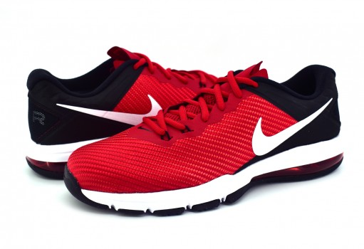 NIKE 869633 660 GYM RED/BLACK(WHITE) AIR MAX FULL RIDE TR 1.5  25-31