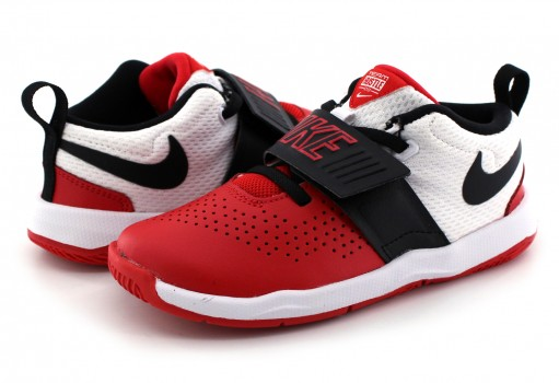 NIKE 881943 600 UNIV RED/BLACK-WHITE TEAM HUSTLE D 8 (TD)  12-16