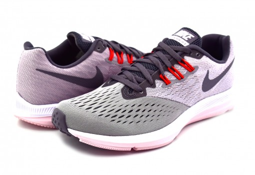 NIKE 898485 010 ATMSPHR GRY/GNSMK ZOOM WINFLO 4 22