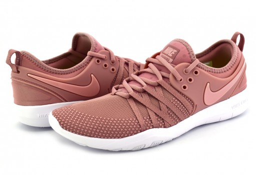 NIKE 904651 604 RUST PINK/CORAL STARDUST-WHITE FREE TR 7  22-27