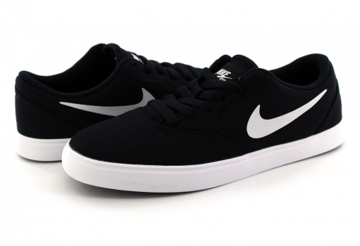 NIKE 905373 003 BLACK (WHITE) SB CHECK CNVS  22.5-25