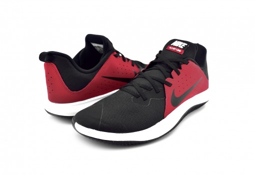 NIKE 908973 600 GYM RED/BLACK-WHITE FLY.BY LOW  26-33