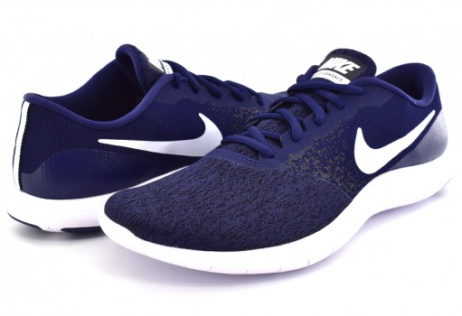 NIKE 908983 403 MIDNIGHT NAVY/WHITE-BLACK FLEX CONTACT  25-31