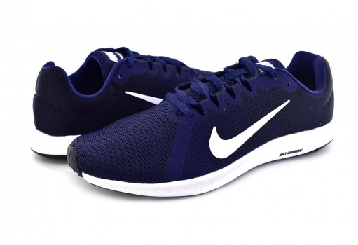 NIKE 908984 400 MIDNIGHT NAVY/WHITE DOWNSHIFTER 8 25