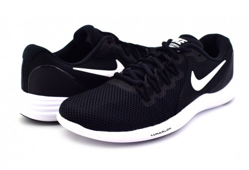 NIKE 908987 001 BLACK/WHITE-COOL GREY LUNAR APPARENT  25-31