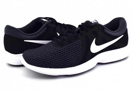 NIKE 908988 001 BLACK/WHITE-ANTHRACITE REVOLUTION 4  25-31