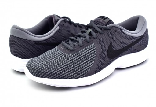 NIKE 908988 010 DK GREY/BLACK-COOL GREY-WHITE REVOLUTION 4  25-31