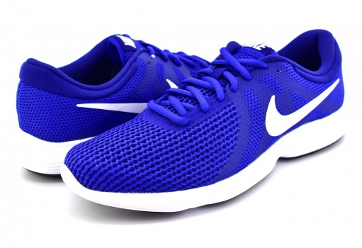 NIKE 908988 400 GM ROYAL/WHITE-DP RYL BL-BLACK REVOLUTION 4  25-31