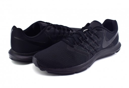 NIKE 908989 019 BLACK BLACK WHITE RUN SWIFT  25-32