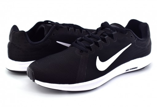 NIKE 908994 001 BLACK/WHITE DOWNSHIFTER 8 22