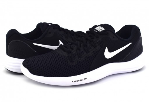 NIKE 908998 001 BLACK/WHITE-COOL GREY WMNS LUNAR APPARENT  22-27