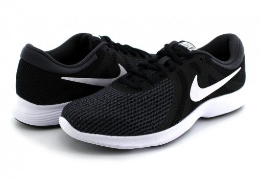 NIKE 908999 001 BLACK/WHITE-ANTHRACITE REVOLUTION 4  22-27