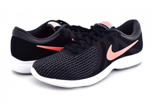 NIKE 908999 008 BLACK/CRIMSON PULSE REVOLUTION 4 22