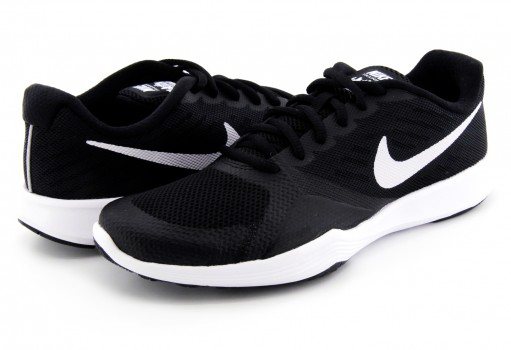 NIKE 909013 001 BLACK/WHITE CITY TRAINER 22