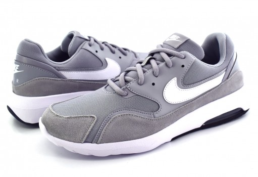 NIKE 916781 001 WOLF GREY/WHITE-BLACK AIR MAX NOSTALGIC  25-31