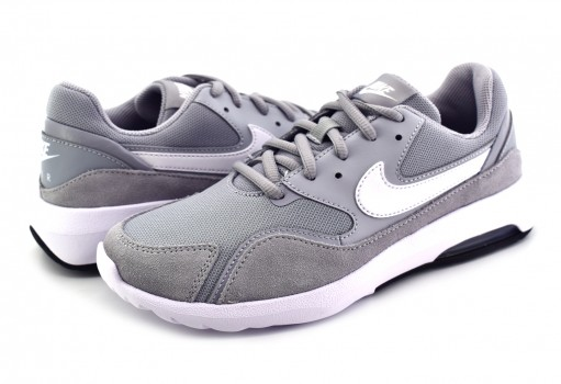 NIKE 916789 005 WOLF GREY/WHITE-BLACK AIR MAX NOSTALGIC  22-27