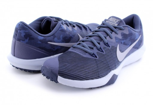 NIKE 917707 401 THUNDER BLUE/MTLC COOL GREY RETALIATION TR 25