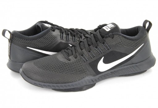 NIKE 917708 001 BLACK/WHITE-ANTHRACITE ZOOM DOMINATION TR  25-31