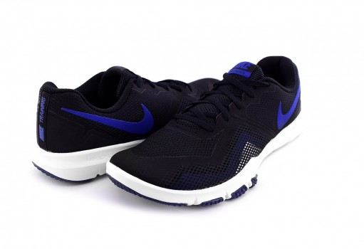 NIKE 924204 014 BLACK/GYM BLUE-WHITE FLEX CONTROL II  25-32