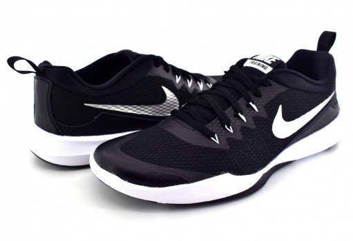 NIKE 924206 001 BLACK/METALLIC SILVER-WHITE LEGEND TRAINER  25-32