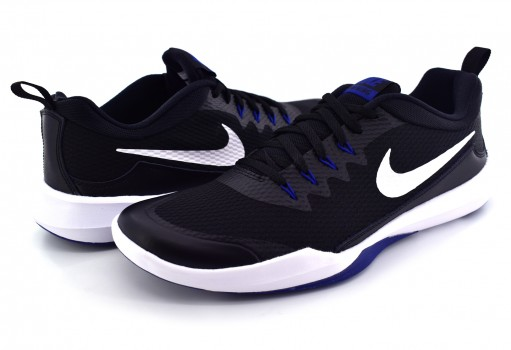 NIKE 924206 004 BLACK/WHITE-GYM BLUE LEGEND TRAINER  25-31