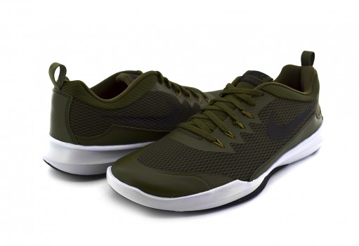 NIKE 924206 300 OLIVE CANVAS/BLACK-WHITE-GOLDEN MOSS LEGEND TRAINER  25-30