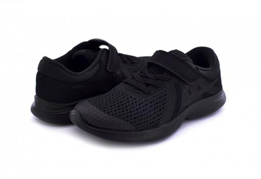 NIKE 943305 004 BLACK/BLACK REVOLUTION 4 (PSV) 17