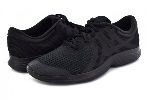 NIKE 943309 004 BLACK/BLACK REVOLUTION 4 (GS) 22.5