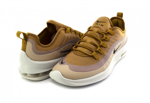 NIKE AA2146 700 WHEAT/BLACK-LT BONE-CLUB GOLD AIR MAX AXIS  25-31