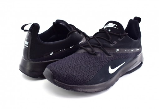 NIKE AA2178 002 BLACK/WHITE AIR MAX MOTION RACER 2  25