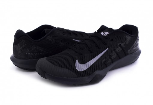 NIKE AA7063 003 BLACK/MTLC COOL GREY-ANTHRCT RETALIATION TR 2  25-31