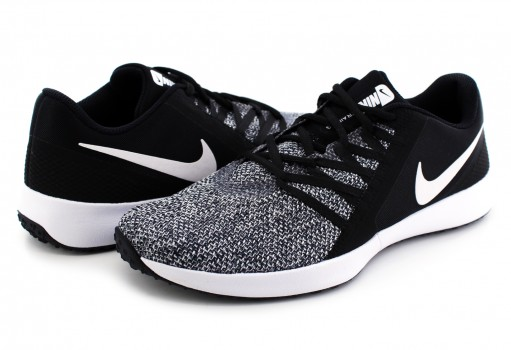 NIKE AA7064 001 BLACK (WHITE) VARSITY COMPETE TRAINER  25-31