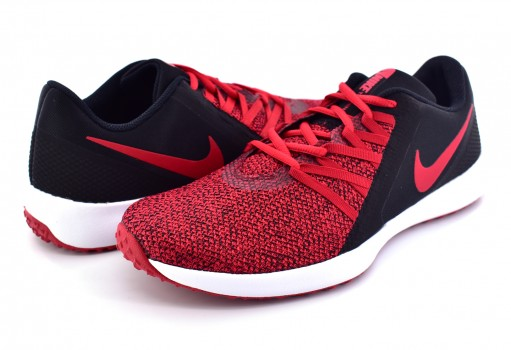 NIKE AA7064 006 BLACK/GYM RED VARSITY COMPETE TRAINER 25