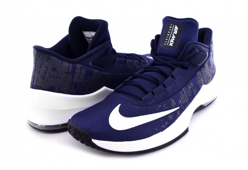 NIKE AA7066 404 MIDNIGHT NAVY/WHITE-DARK OBSIDIAN-BLACK AIR MAX INFURIATE 2 MID  25-31