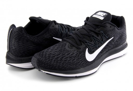NIKE AA7406 001 BLACK/WHITE-ANTHRACITE ZOOM WINFLO 5  25-31