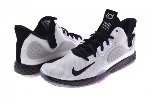 NIKE AT1200 100 WHITE/BLACK-WLF GREY-BRT CRMSN KD TREY 5 VII  25-33