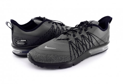 NIKE AV5356 001 DK GREY/MTLC SILVER-BLACK AIR MAX SEQUENT 4 UTILITY  22-27