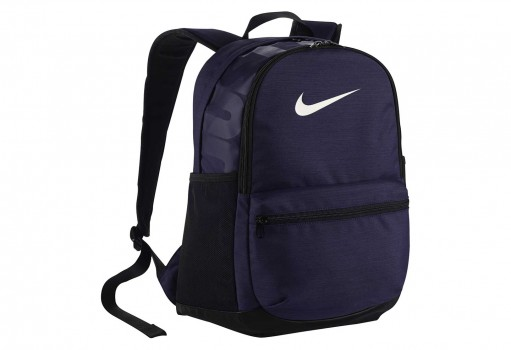 NIKE BA5329 410 MIDNIGHT NAVY/BLACK/(WHITE) BRSLA M BKPK  UNICA
